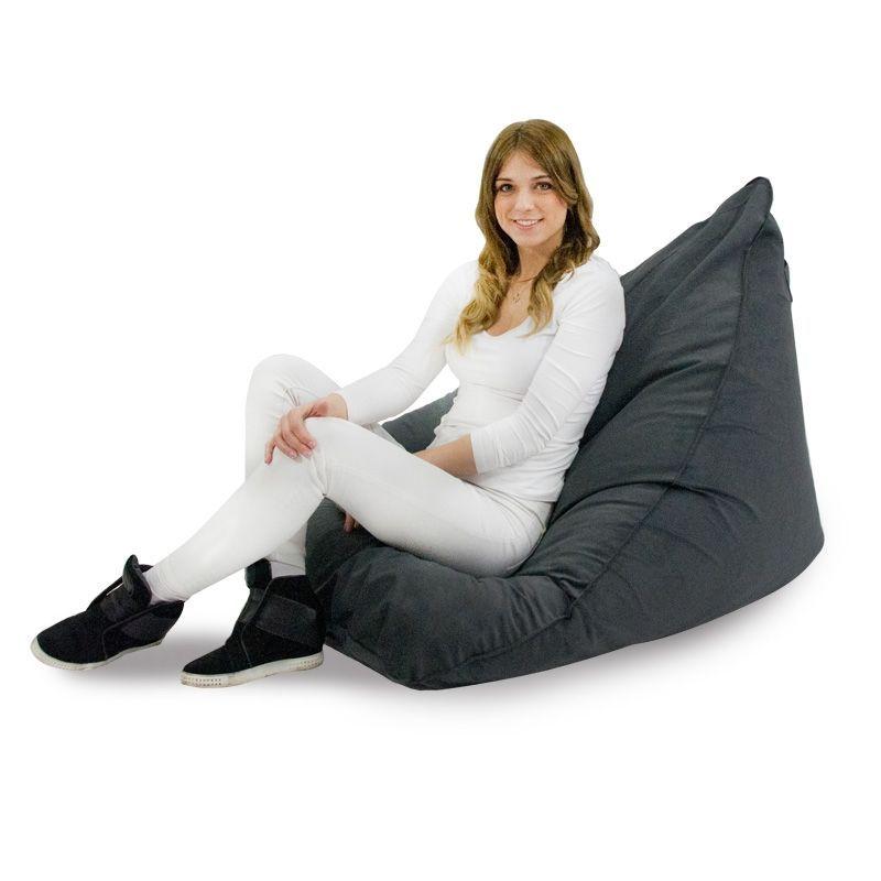 Sitzsack sessel zum sitzen bequeme sitzs cke f r den - Sitzsack garten outdoor ...