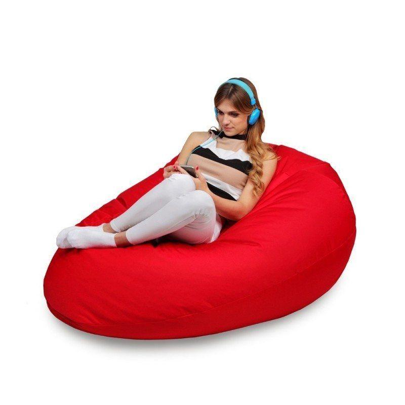 sitzsack xxl riesiger sitzsack f r den garten wasserabweisender. Black Bedroom Furniture Sets. Home Design Ideas