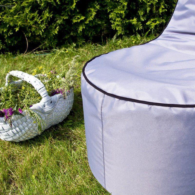 Sitzsack sessel mit der st tze f r eine terrasse oder - Sitzsack garten outdoor ...