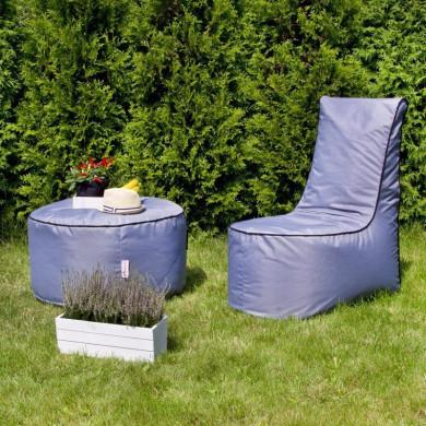 Set Sessel + Ein Kleiner Tisch Madrid Outdoor
