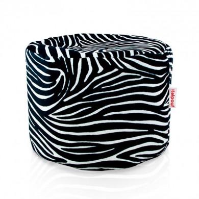 Sitzpouf Cilindro Zebra