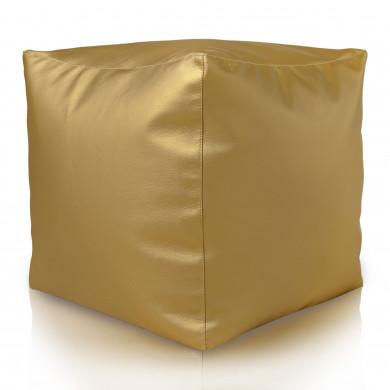 Sitzpouf Cubo Gold