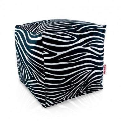 Sitzpouf Cubo Zebra