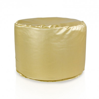 Sitzpouf Cilindro Gold