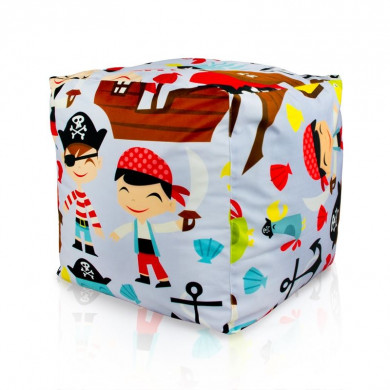Sitzpouf Kinder Cubo Piraten