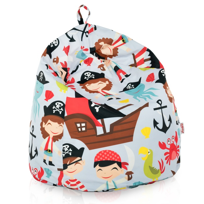 Kindersitzsack Piraten