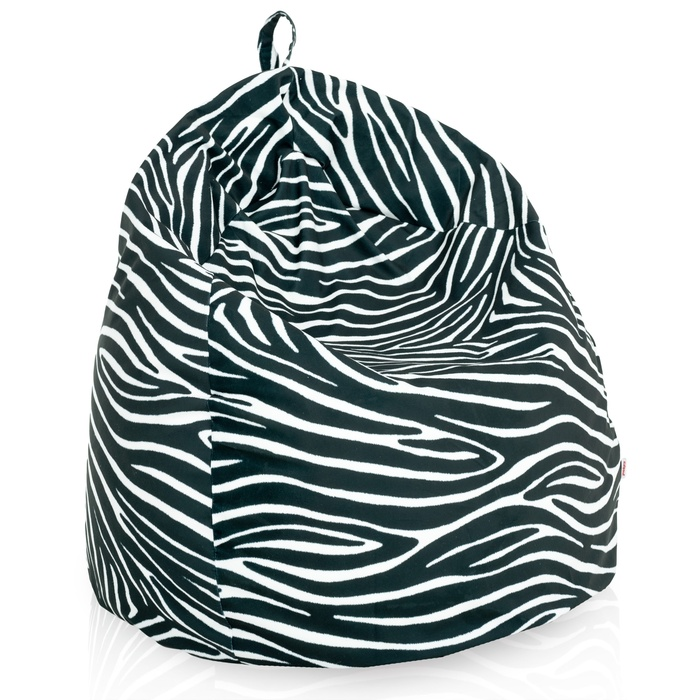 Sitzsack Zebra