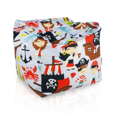 Sitzpouf Kinder Amalfi Piraten