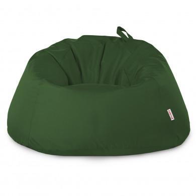 Dunkelgrün Riesensitzsack Draußen XXXL