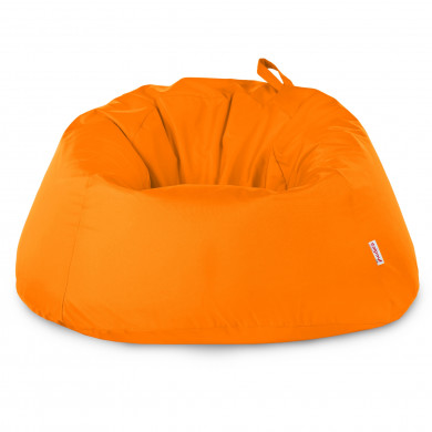 Orange Riesensitzsack Draußen XXXL