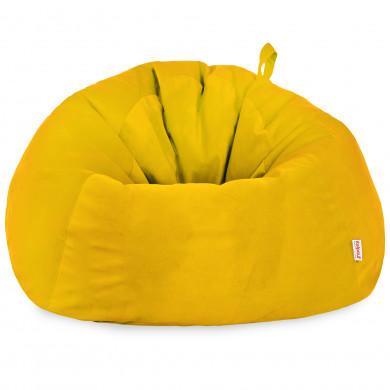 Gelb Riesensitzsack XXXL Groß Plüsch