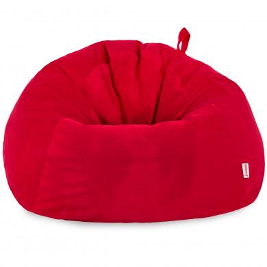 Rot Riesensitzsack XXXL Groß Plüsch