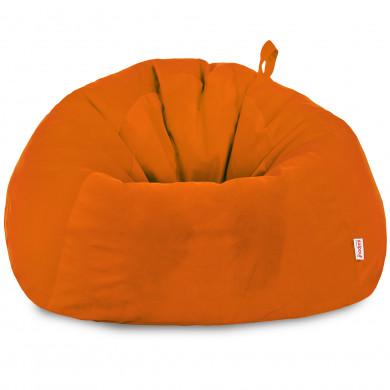 Orange Riesensitzsack XXXL Groß Plüsch