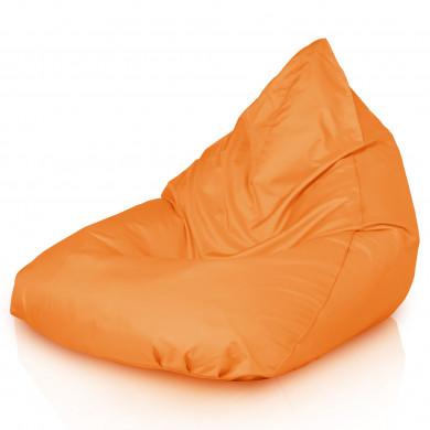 Orange Sitzsack Kinzler Mikrofaser Bermuda