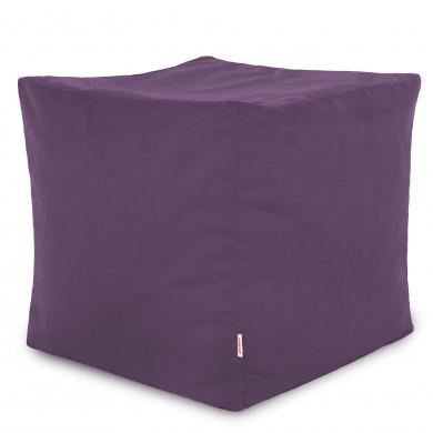 Lavender Sitzhocker Plüsch Cubo Zimmer