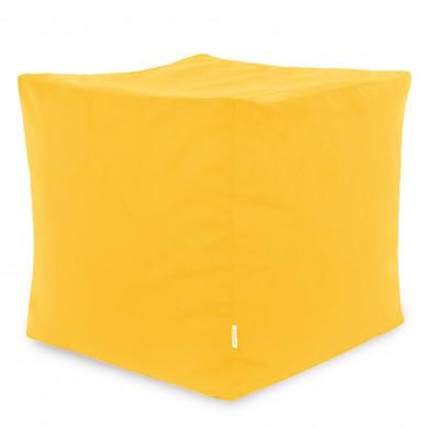 Gelb Sitzhocker Plüsch Cubo Kinder
