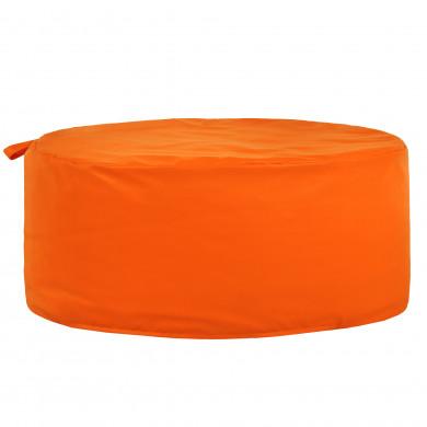 Orange Sitzpouf Kinderzimmer Kunstleder Circolo