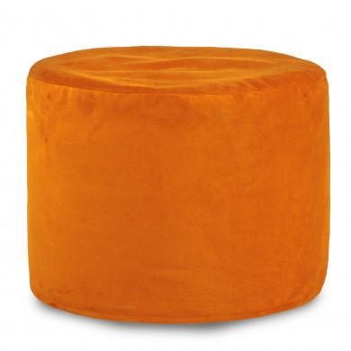 Orange Sitzwürfel Plüsch Cilindro Jugendzimmer