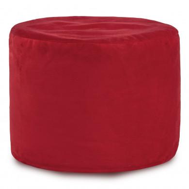 Rot Sitzwürfel Plüsch Cilindro Relax
