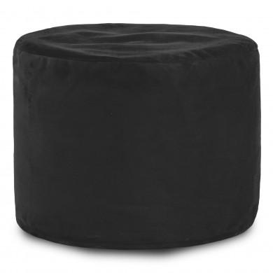 Schwarz Sitzwürfel Plüsch Cilindro