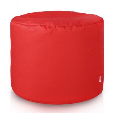 Rot Sitzwürfel Outdoor Draußen Cilindro