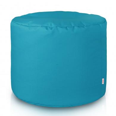 Blau Sitzwürfel Outdoor Pouf Cilindro