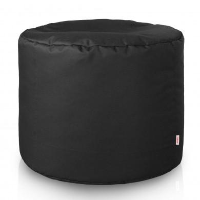 Schwarz Sitzwürfel Outdoor Cilindro