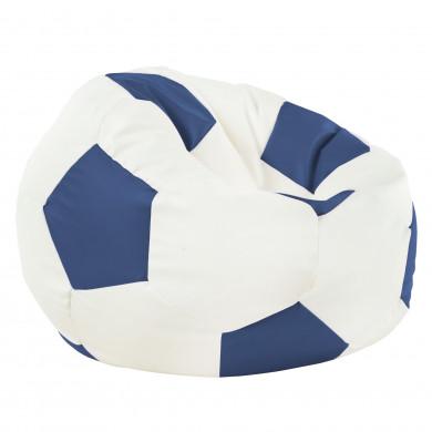 Blau Sitzsack Fußball Jugendzimmer Kunstleder