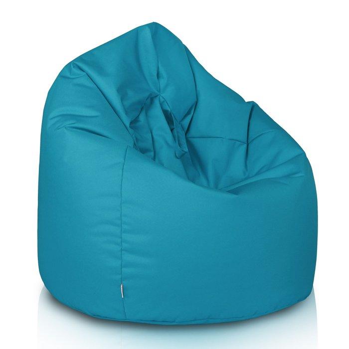 Kinder Sitzsack blau. Sitzsack zum Sitzen aus Nylon