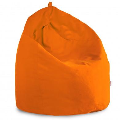Orange Sitzsack XL Plüsch Kinderzimmer