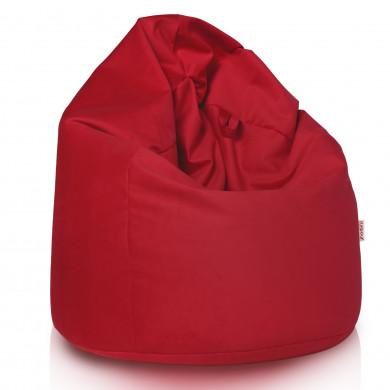 Rot Sitzsack XL Plüsch Wohnzimmer