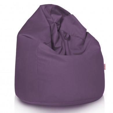 Violett Sitzsack XL Plüsch Groß