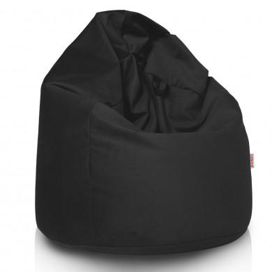Schwarz Sitzsack XL Plüsch Modern