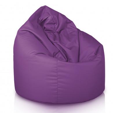 Violett Sitzsack XL Outdoor Terrasse