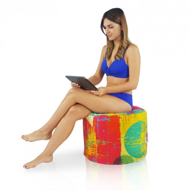 Sitzpouf Cubo Fresh Outdoor