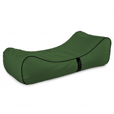 Modern Relax Sessel Lounge Dunkelgrün Outdoor