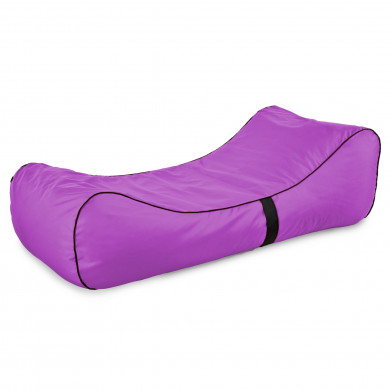Modern Relax Sessel Lounge Violett Outdoor
