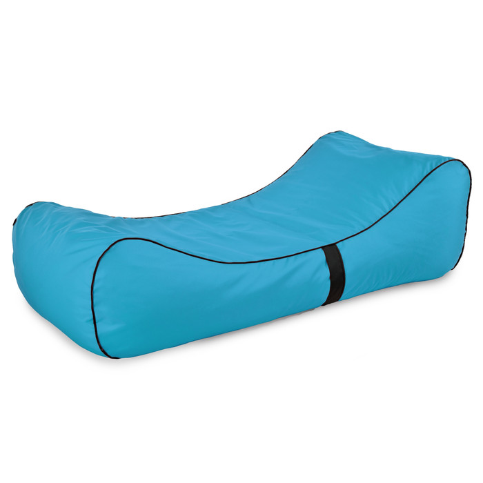 Modern Relax Sessel Lounge Blau Outdoor