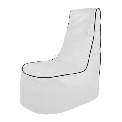 Weiß Sitzsack Sessel Draußen Outdoor