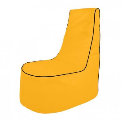 Gelb Sitzsack Sessel Draußen Kindergarten