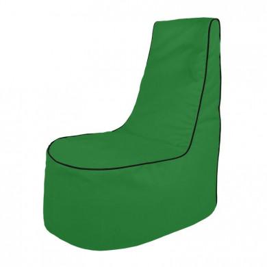 Grün Sitzsack Sessel Draußen