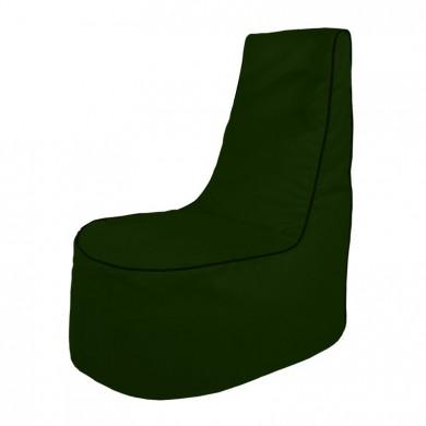 Dunkelgrün Sitzsack Sessel Draußen