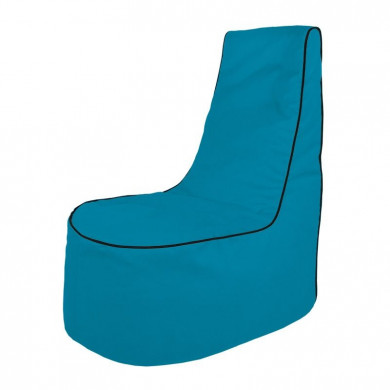 Blau Sitzsack Sessel Draußen Gartenstühle