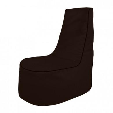Braun Sitzsack Sessel Draußen Gartenmöbel