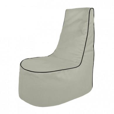 Hellgrau Sitzsack Sessel Draußen Outdoor