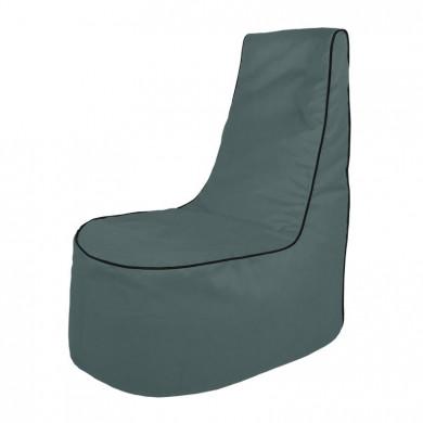 Grau Sitzsack Sessel Draußen Garten