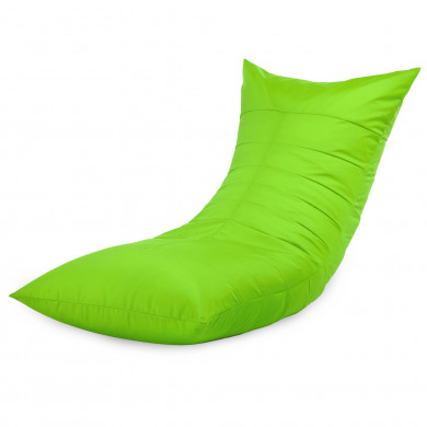 Sitzsack Sessel Liege Limette Outdoor