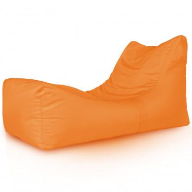 Lounge Sessel Outdoor Orange Garten