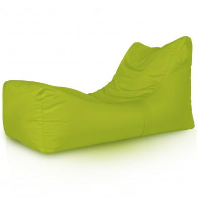 Lounge Sessel Outdoor Limette Strand