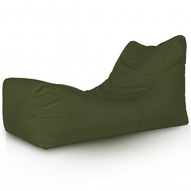 Lounge Sessel Outdoor Dunkelgrün